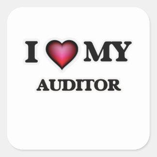 I love my Auditor Square Sticker