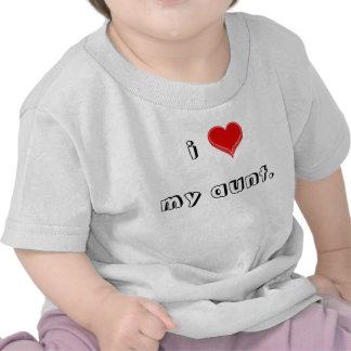 i-love-my-aunt02 t shirt