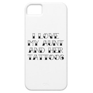 I Love My Aunt And Her Tattoos iPhone SE/5/5s Case