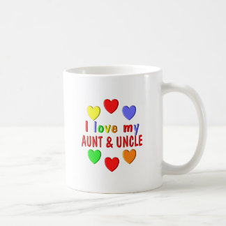 I Love My Aunt and Uncle Coffee Mug