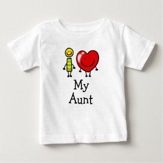 i love my aunt baby T-Shirt