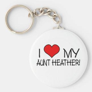 I Love My Aunt Heather! Keychain