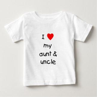 I Love My Aunt & Uncle Infant T-shirt