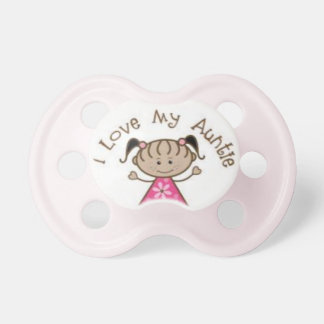 I love my Auntie Aunt pacifer Pacifier