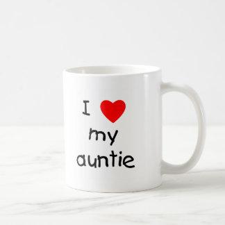 I Love My Auntie Classic White Coffee Mug