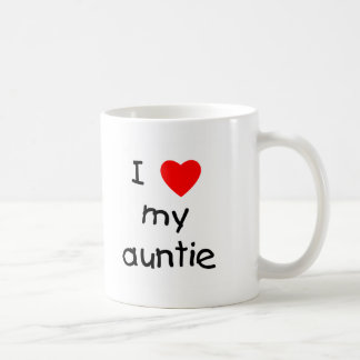I Love My Auntie Coffee Mug