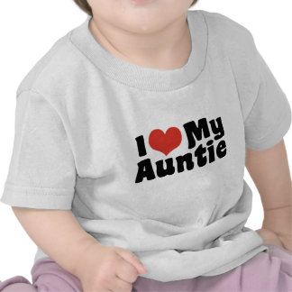 I Love My Auntie Tshirt