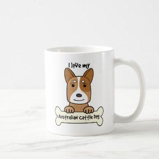 I Love My Australian Cattle Dog Coffee Mug