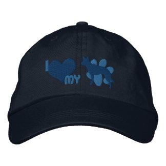 I Love my Australian Kelpie Embroidered Hat