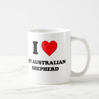 I Love My Australian Shepherd Coffee Mug