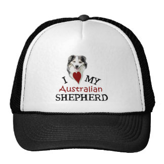 I love my Australian Shepherd Trucker Hat