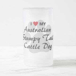 I Love My Australian Stumpy Tail Cattle Dog Coffee Mugs