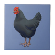 I Love My Australorp Chicken Tile