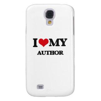 I love my Author Samsung Galaxy S4 Cases