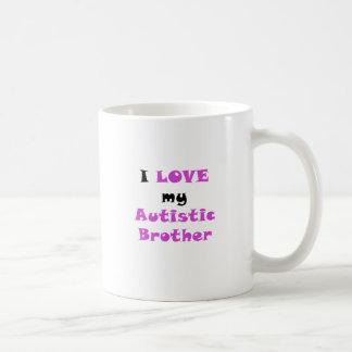 I Love my Autistic Brother Coffee Mug