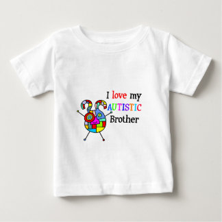 I Love My Autistic Brother Tee Shirt