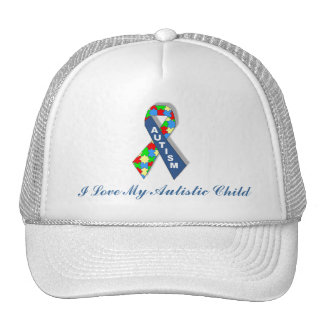 I Love My Autistic Child Hat