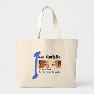 I love my autistic child - unique bag design serie