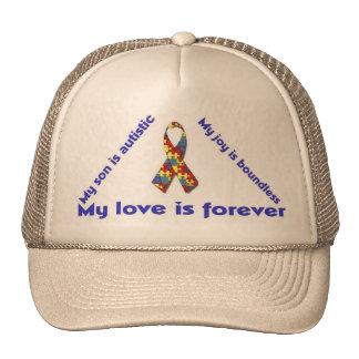 I love my autistic child - unique cap design serie trucker hat