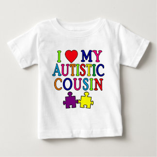 I Love My Autistic Cousin T-shirt