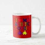 I Love My Autistic Cousin T-shirt Coffee Mug