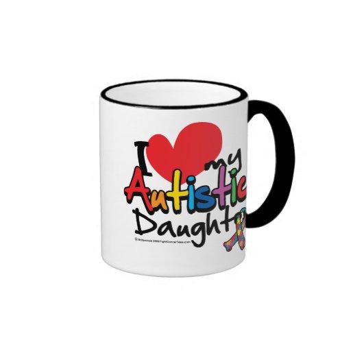 I Love My Autistic Daughter Mug