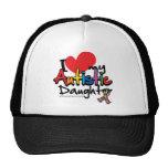 I Love My Autistic Daughter Trucker Hat