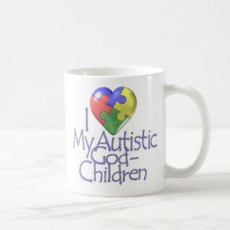 I Love My Autistic GodChildren Coffee Mug