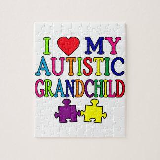 I Love My Autistic Grandchild Puzzle