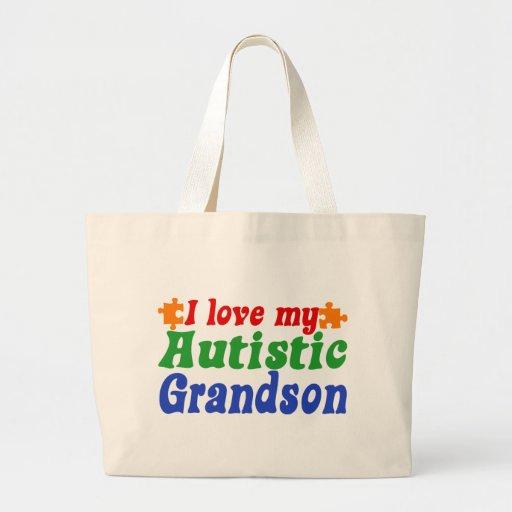 I love my Autistic Grandson Bag