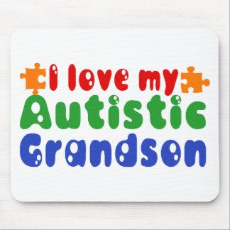 I love my Autistic Grandson Mouse Pad