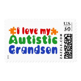 I love my Autistic Grandson Postage
