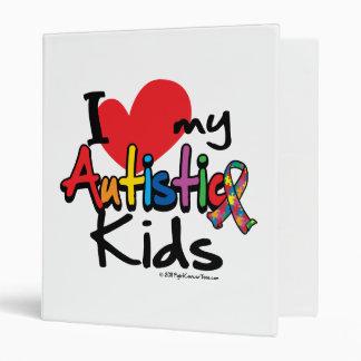 I Love My Autistic Kids Binder