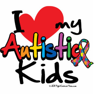 I Love My Autistic Kids Statuette