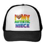 I Love My Autistic Niece.png Mesh Hat