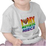 I Love My Autistic Niece.png T Shirts