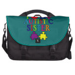 I Love My Autistic Sister Bag For Laptop