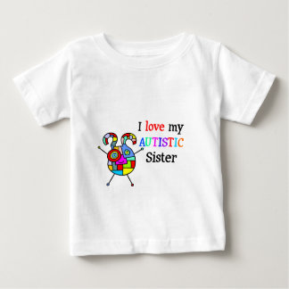 I Love My Autistic Sister T-shirts