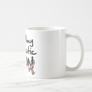 I Love My Autistic Son Coffee Mug