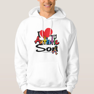 I Love My Autistic Son Hoodie