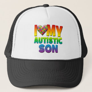 I Love My Autistic Son.png Trucker Hat