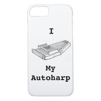 I Love My Autoharp iPhone 8/7 Case