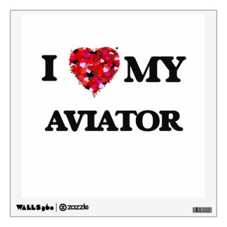 I love my Aviator Wall Skin