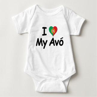 I Love My Avo (Grandmother) T Shirt