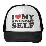 I Love My Awesome Self Trucker Hat