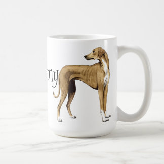 I Love my Azawakh Coffee Mug