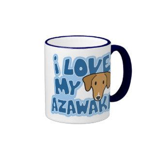 I Love My Azawakh Mug
