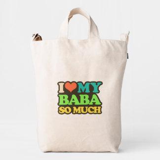 I Love My Baba So Much Duck Bag