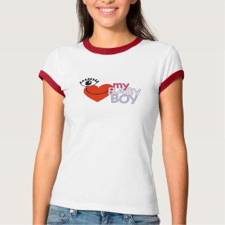 I Love My Baby Boy- Eye Love My Baby Boy T-Shirt