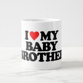 I LOVE MY BABY BROTHER JUMBO MUGS